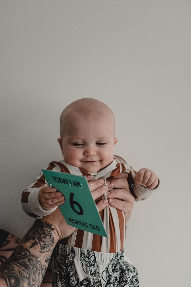 vauva puolivuotias