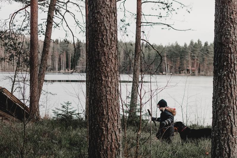 hiihtoloma mökillä 0131